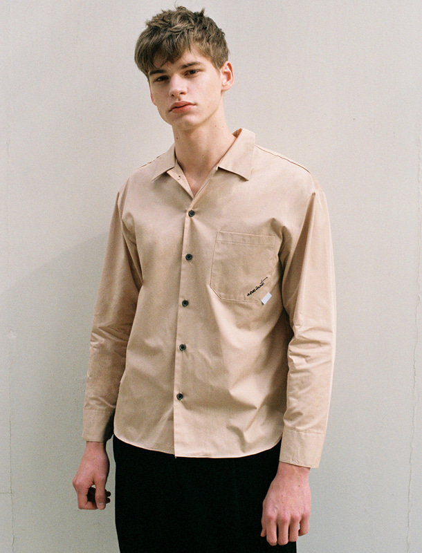 MODERN SHIRT BEIGE (MEN)