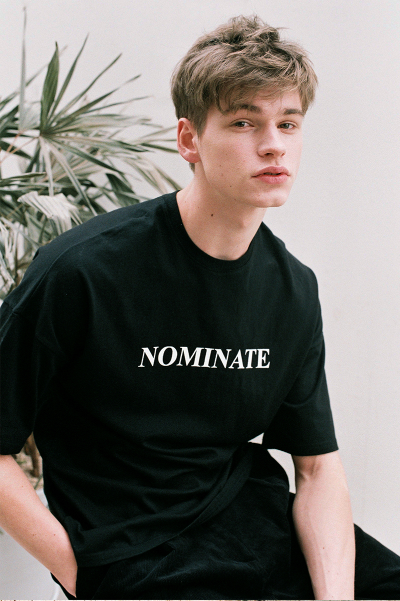 NOMINATE T-SHIRT BLACK (MEN)