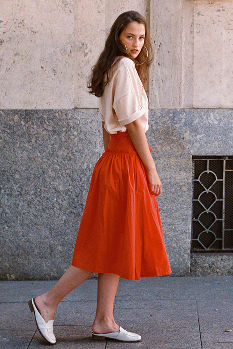 Lab Skirt_RED