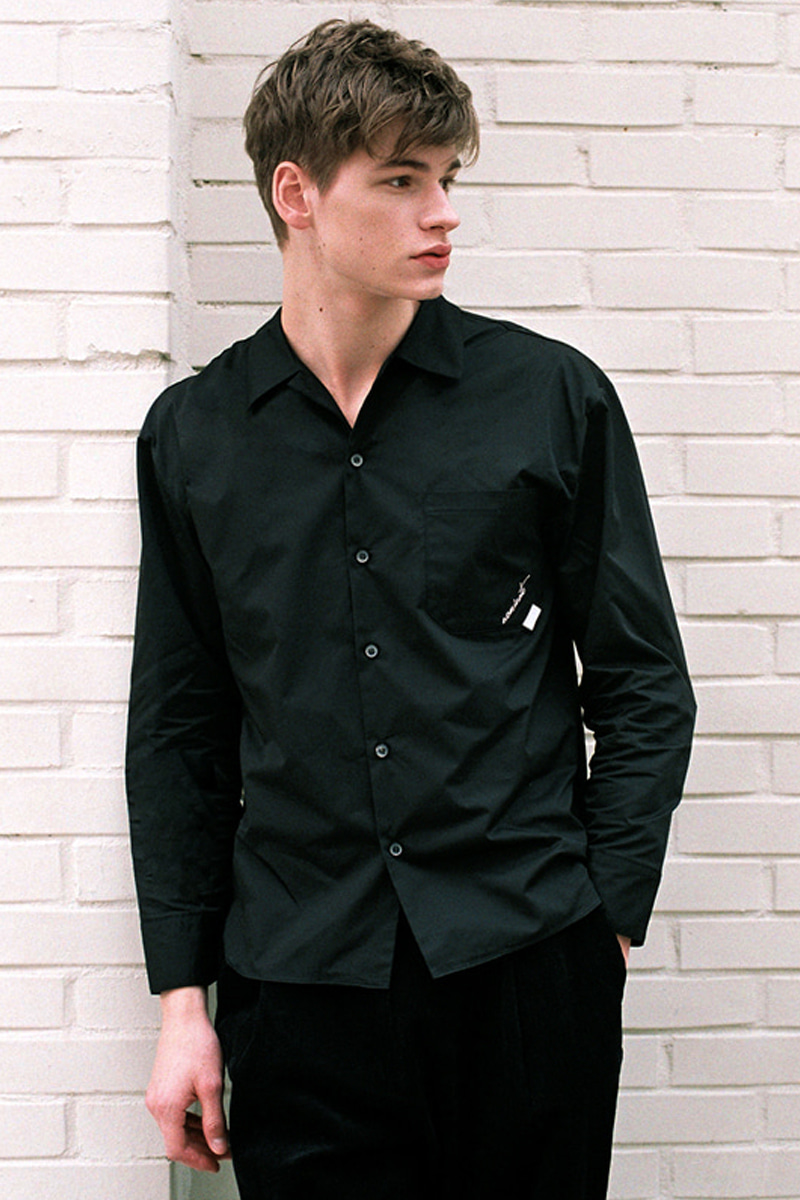 MODERN SHIRT BLACK (MEN)